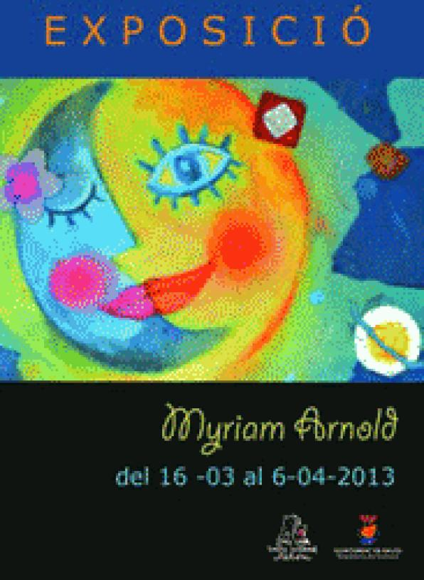 The universe idyllic chromatic Myriam Arnold arrives at the Torre Vella