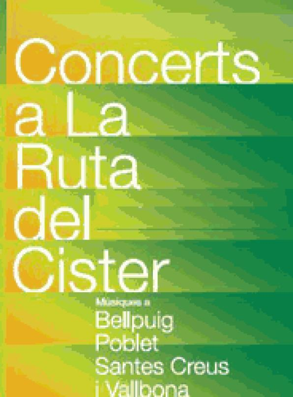 Arrival of the 7th edition of the summer concert of the Ruta del Cister 2011