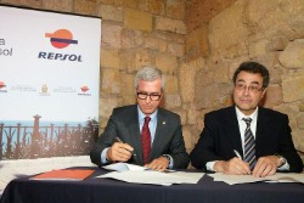 Signed the framework agreement of cooperation between Tarragona and Repsol