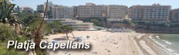 Beach Capellans; Salou.Costa Dorada