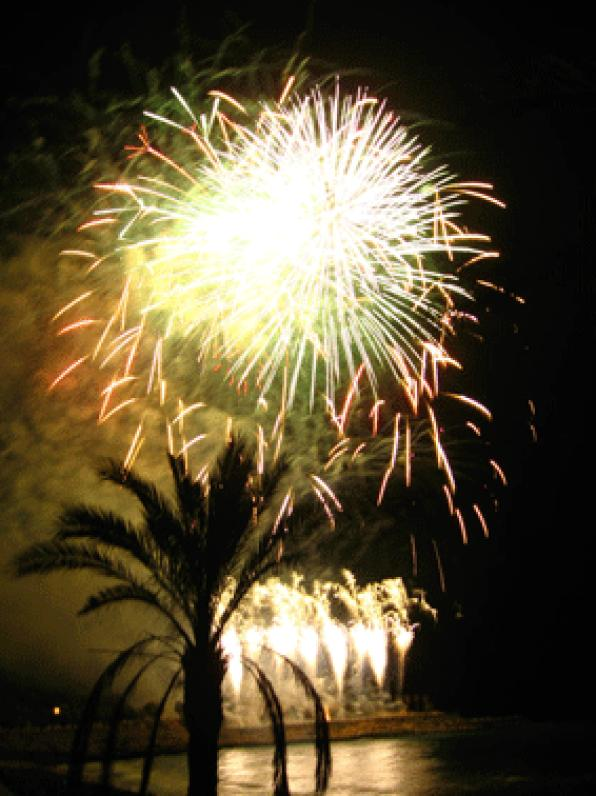 The fireworks will open Galician XXI International Fireworks Competition Tarragona City