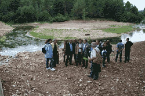 More than 200 people see the new image of the river in Gaia at the III Nature day
