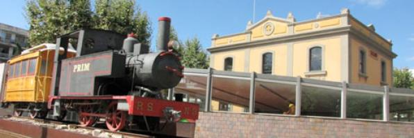 Antigua estación del Carrilet <br /> Salou.Costa Dorada 4