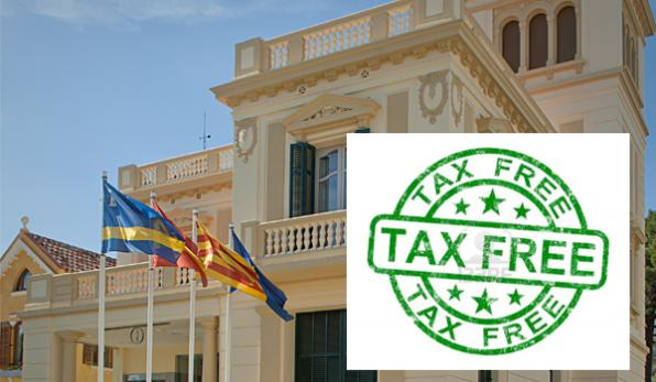 The Office of Tax Free Salou, located at Xalet Torremar