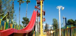Costa Caribe Khajuna King, the highest free-fall slide in Europe