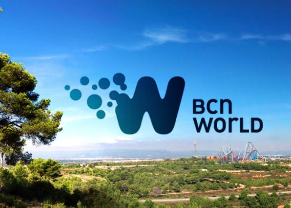 Logo de BCN World.
