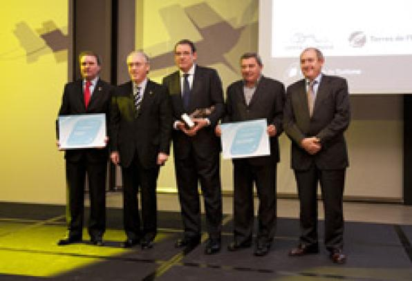 Sant Carles de la Rapita, Joan Molas and Terra Alta, among the winners at the XXITourism Evening