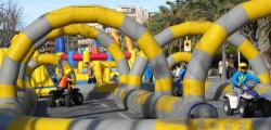 Children and youth enjoy Salou's Espai Xic's during Christmas holidays