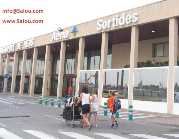 Reus Airport is located about 8 miles from Salou.