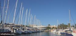How to get to Salou by boat
