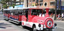 Tourist train of Salou