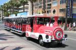 The Salou tourist train offers two different circular routes