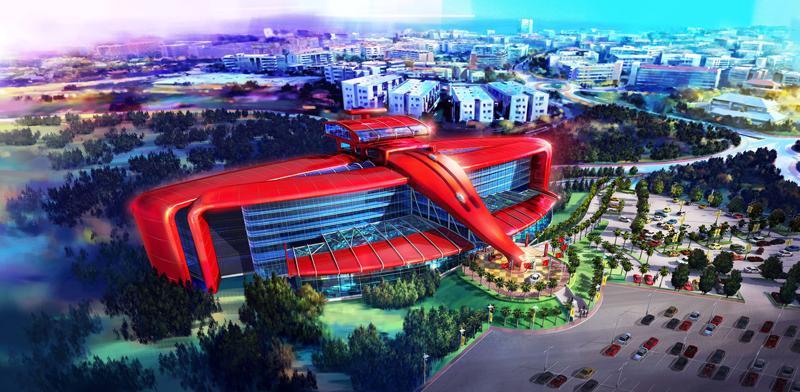Ferrari Land Portaventura Will Be Similar To The In Abu Dhabi