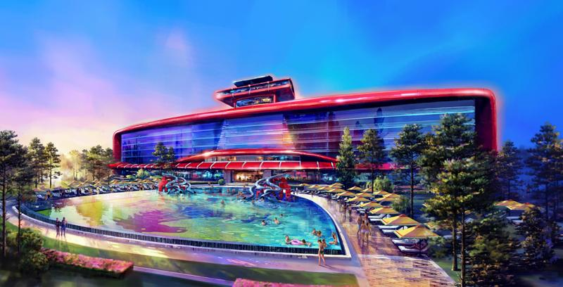 Ferrari Land Tindrà El Primer Hotel Amb 250 Habitacions