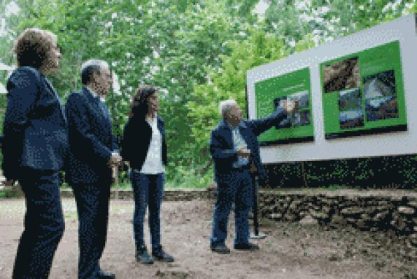 Tarragona recovers river area of ​​the Alameda and meander Santes Creus
