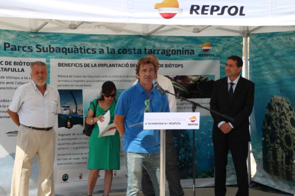 The project promoted by Miquel Rota is sponsored by Repsol