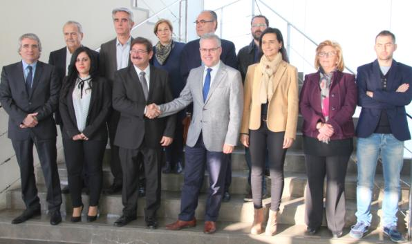 Agreement FUPS-PSC CiU government in Salou
