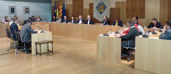 Plenum of the City of Salou