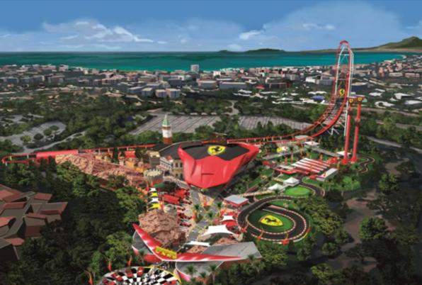 Portaventura Ferrari Land Will Open The April 7 2017