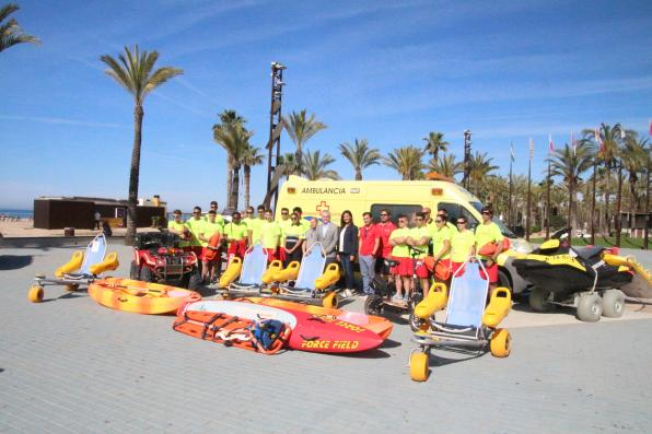 New rescue team for the beaches of Salou