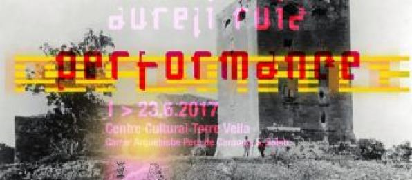 """Performance"" by Aureli Ruiz at the Centro Cultural Torre Vella"