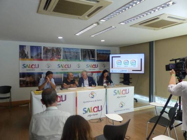 Presentation of the campaign in the municipality of Salou