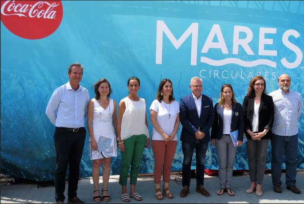 Image of the presentation of Coca-Cola in Salou