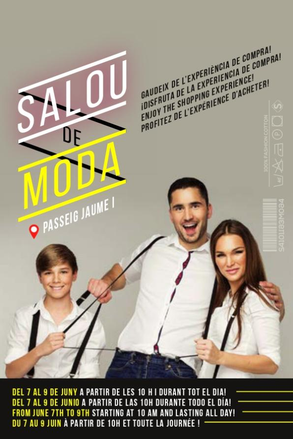 Image of the Salou de Moda poster 2019