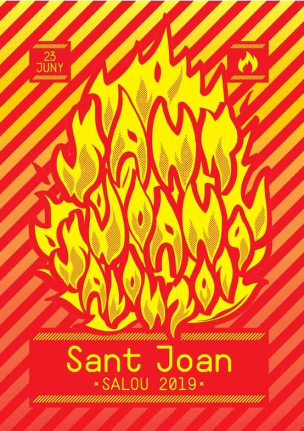 Poster of the Revetlla de Sant Joan de Salou 2019