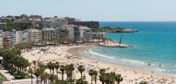 The water of Salou beaches, excellent quality