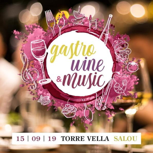 Poster of the Gastro Wine & Music of Salou 2019