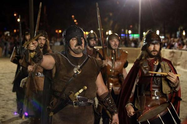 Medieval show of the Feast of King Jaume I of Salou