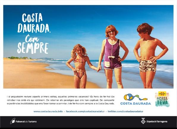 Image of the  campaign Costa Dorada, as always
