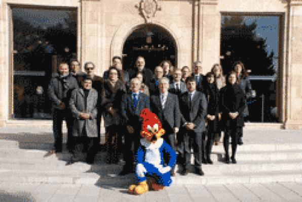 The Diputació, local entities and PortAventura  promoted in exhibitions in Catalonia and abroad