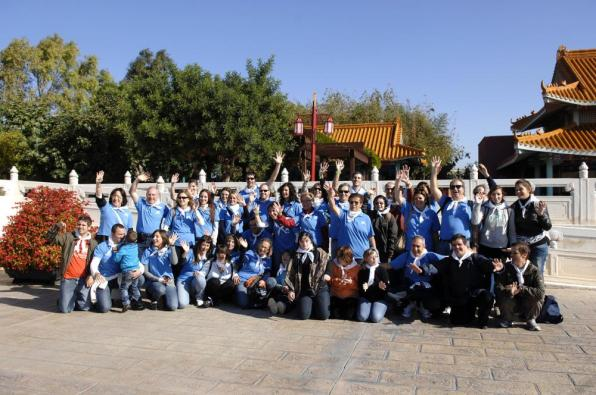 "Volunteers from ""la Caixa"" accompany more than 1,700 people with Down syndrome in Port Aventura"