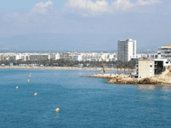 Salou and the Costa Dorada beaches are equipped with flag