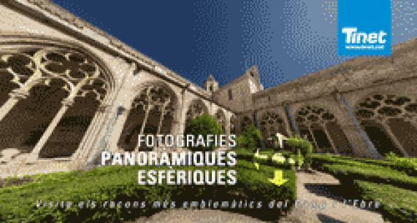 Virtual tours to the heritage in the province of Tarragona