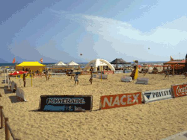 XII Beach Volleyball Tour held in Salou
