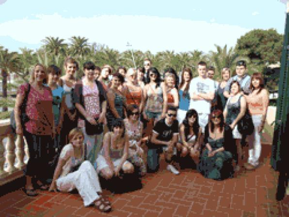 British students visit the Costa Dorada