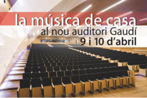 The Auditori of Reus opens to the public with a series of free concerts
