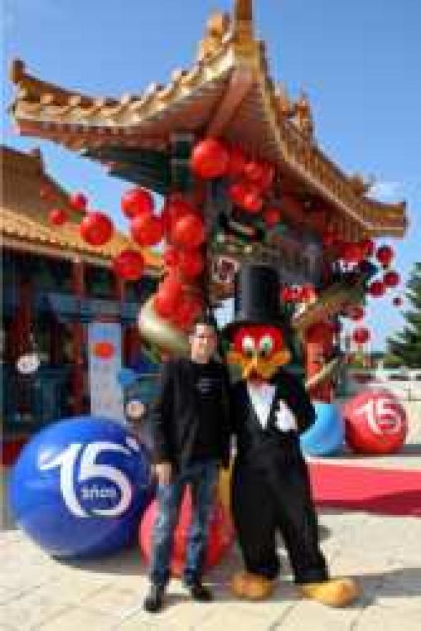 cesc fabregas celebrates its 15th anniversary at