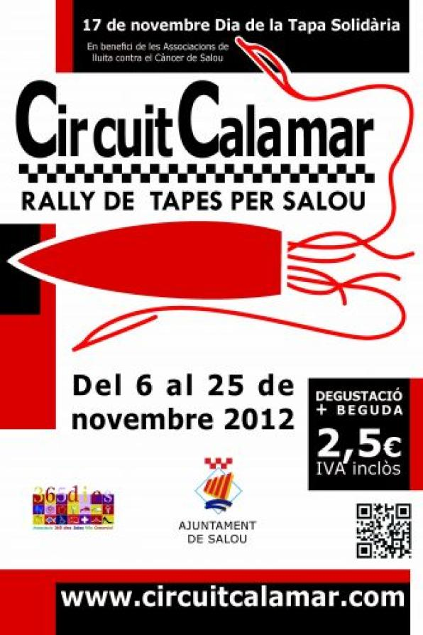The squid is the protagonist of the new route covers Salou, from 6 to 25 november