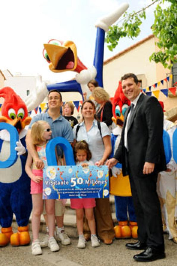 PortAventura has today welcomed 50 million visitors 1