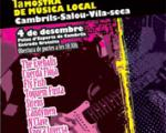 Arrival of the 1st Local music venue: Cambrils-Salou-Vila-seca