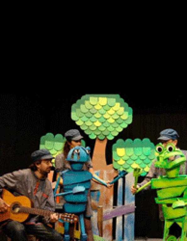 The cicada and the ant, drama for children this Saturday