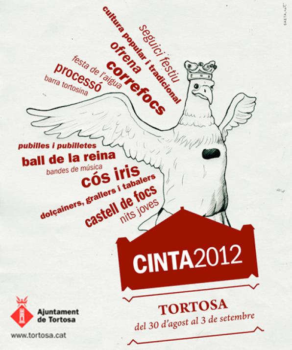 La Cinta 2012 of Tortosa presents the poster and prepare five intense days of celebration 1