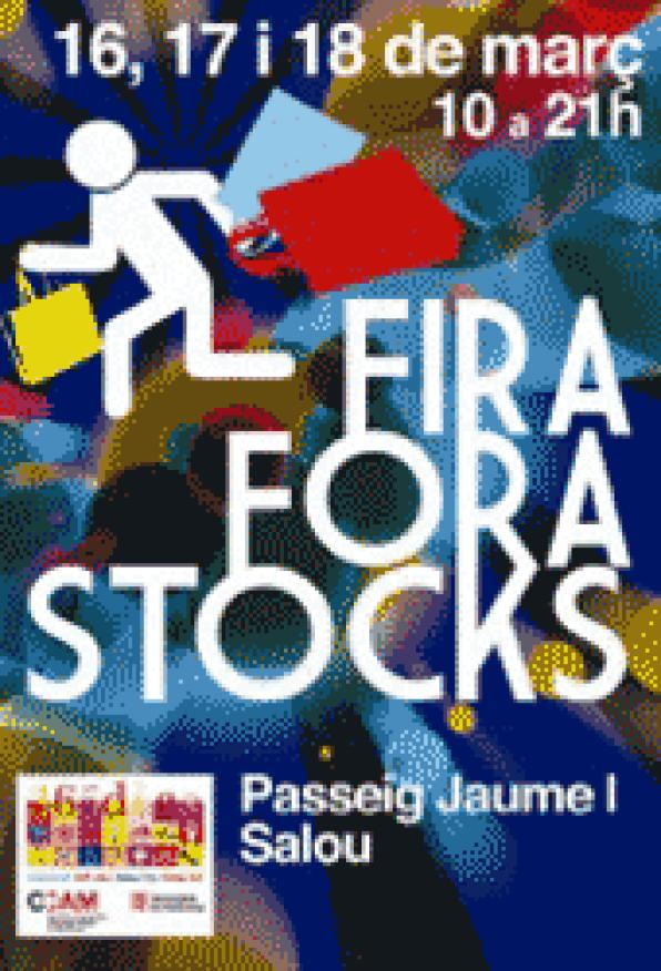 Trade in Salou FueraStocks season closes from 16 to 18 March in the Paseo Jaume I