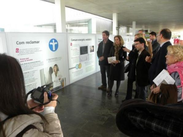 The exhibition 'Consumer IN - Our strength' comes in Salou to promote consumer rights