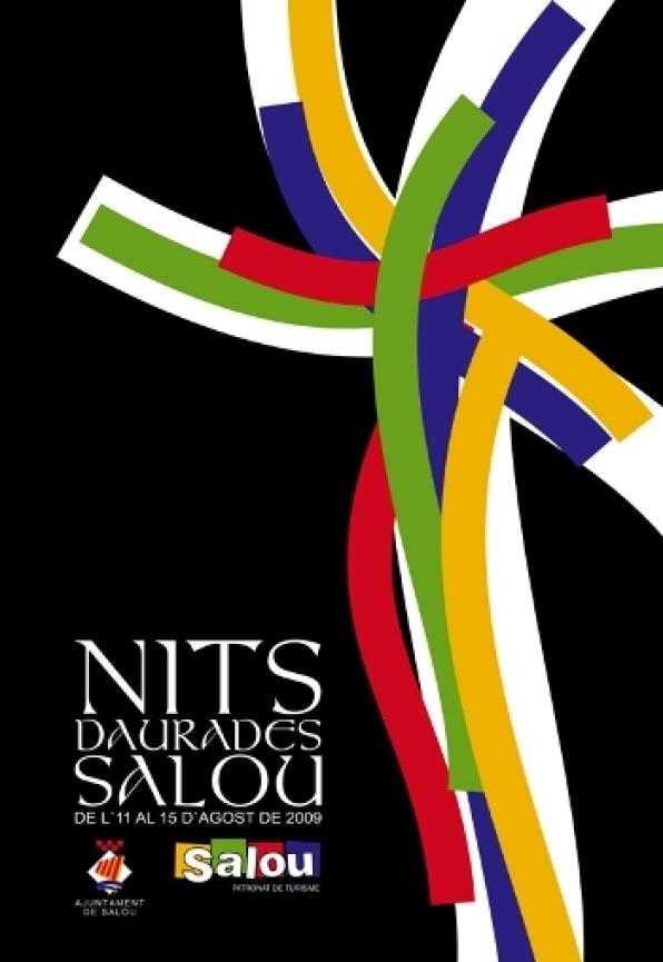 "The picture ""Reflejos"" won the contest to choose the poster of the ""Nits Daurades"" of Salou"