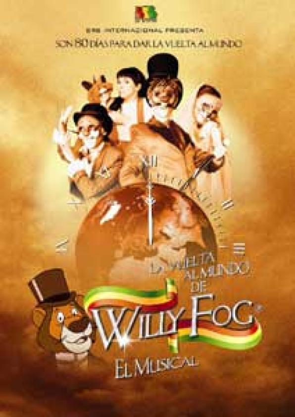 "The whole family musical ""Willy Fog"" arrives this Saturday to Salou"